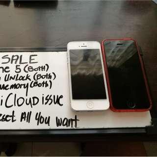 IPhone 5 bundle unit only