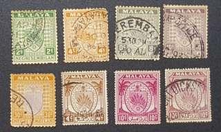 Malaya Negri Sembilan stamps