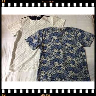 Blue blouse buy 1 get 1