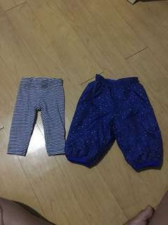 Thermal pants for 0-3mos