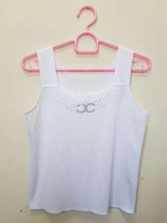 Knitted top white import