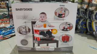 BABYDOES FOLDABLE BOOSTER CHAIRl