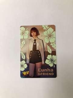 Gfriend Eunha 絕版 Yescard