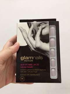 Glamnails Manicare Glue-on Nails