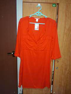 H and M shirt dress new