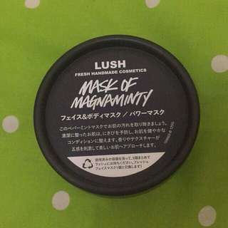 Lush Mask of Magnamity share in Jar 50gr Ori from Japan