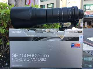 🚚 曙光數位 TAMRON SP 150-600mm F5-6.3 VC USD