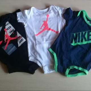 Authentic Nike&Jordan Onesies
