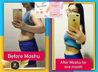 🚚 Moshu Slimming biscuit and Probiotic set