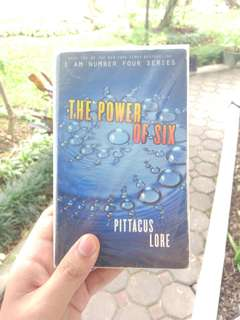 The Power of Six ( I Am Number Four #2), by Pittacus Lore