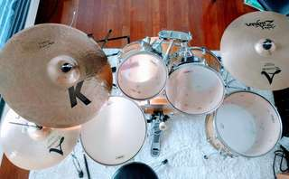 Mapex 5 Piece Drumset QR Series (Cymbals sold separately)