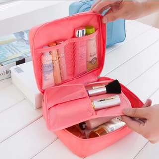 Waterproof Multi-Pouch Travel Cosmetic Organizer Toiletry Makeup Bag