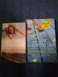 English Novels RM10 for 2