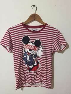 Mickey Mouse Obey T-Shirt