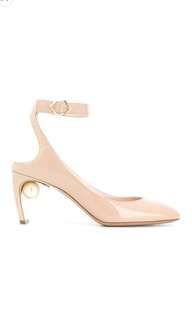Newly new Nicholas kirkwood Sz38 pearls heels
