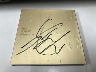 Cnblue 親筆簽名 CD