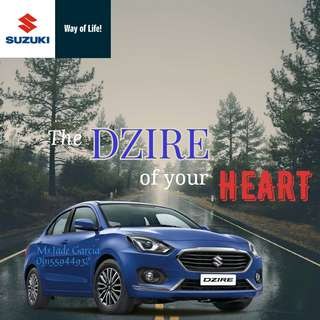 New Face of Suzuki DZIRE, open for reservation!