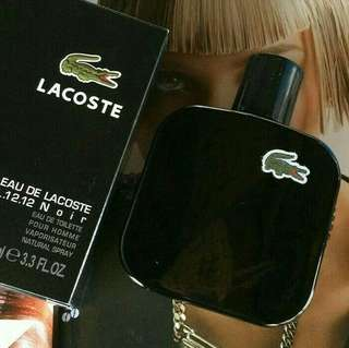 PARFUM LACOSTE NOIR FOR MEN