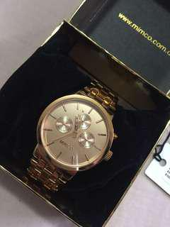 Rose Gold Mimco Watch