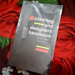 Planning and Designers handbook