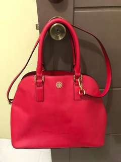 SALE!!!preloved authentic TORY BURCH bag(with flaws) from U.S