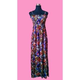 Flora Smocked Maxi Dress