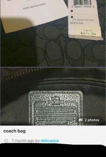 Repriced!!! coach bag