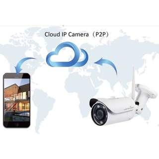 🚚 Wansview Full HD Waterproof P2P IP Camera | Easy Wifi Setup