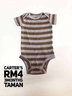 Carters Baby Romper Stripe