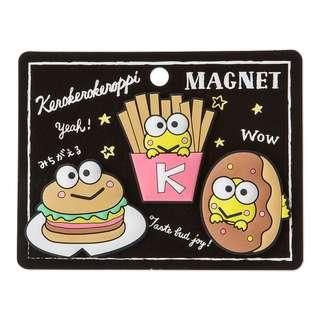 Japan Sanrio Keroppi Rubber Magnet Set
