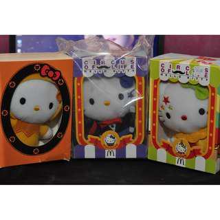 McDonald hello kitty soft toys F.S