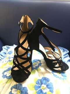 Black Cut-out Heels (Best for Graduation!)