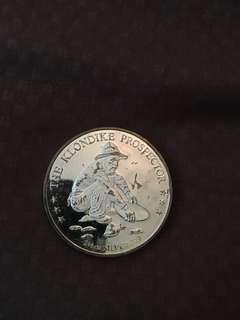 Silver coin 99.9 2.5 oz