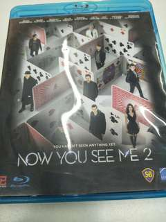 Now You See me 2 blu ray movie