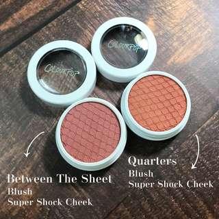 🚚 🌟全新現貨🌟Colourpop Super Shock Blush Between The Sheet Quarters