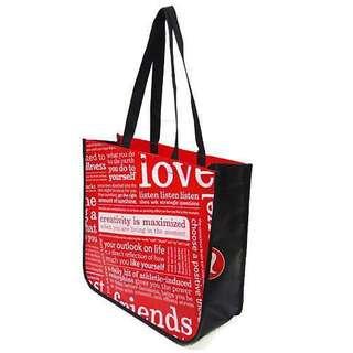 Lululemon Red Manifesto Tote Bag