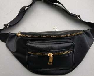 Leather Waist bag(bisa po)