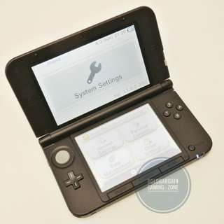 Authentic NINTENDO 3DS Game Console with Original Charger + Warranty