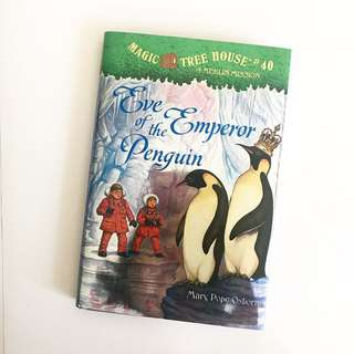 Magic Tree House: A Merlin Mission, Eve of the Emperor Penguin #42 (Hardcover Edition)