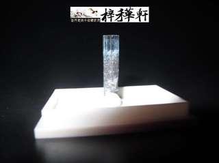【海藍】非洲納米比亞海藍寶石原礦
