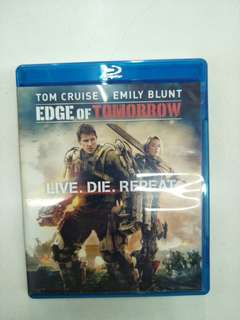 Edge of tomorrow blu ray movie