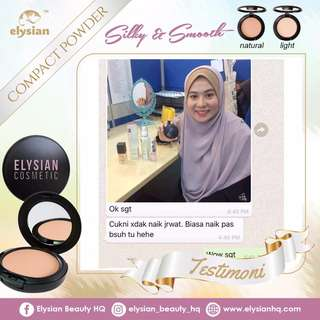 Ready stock Elysian Compaq Powder