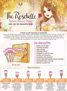 The Rosebelle Kobuki Makeup Btush