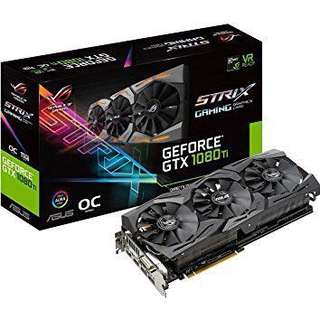 🚚 BNIB Asus strix 1080ti OC version