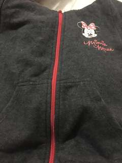 H&m minnie mouse sweater with hoodie