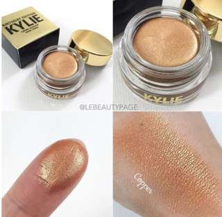 CLEARANCE❗️Kylie Yellow Gold Copper Creme Eyeshadows 💯% AUTHENTIC BNIB