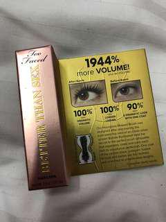 NEW TWO FACED Better than Sex Mascara