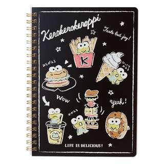 Japan Sanrio Keroppi A5 Notebook