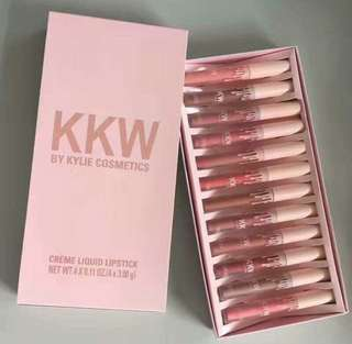 KKW liquid lipstick satu box