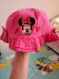 Topi bordir Minnie